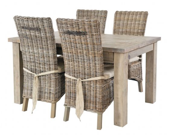 Gaverne Extending Dining Table & Atlantic Chairs - Special Order